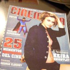 Cine: REVISTA 'CINEMANIA', Nº 125. FEBRERO 2006. KEIRA KNIGHTLEY EN PORTADA.. Lote 22730142