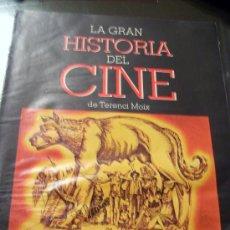 Cine: 'LA GRAN HISTORIA DEL CINE DE TERENCI MOIX', Nº 7 DE LA COLECCIÓN.. Lote 22730144