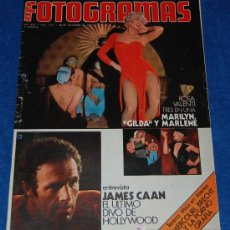 Cine: NUEVO FOTOGRAMAS Nº1419 - JAMES CAAN - ROSA VALENTI - ESTHER WILLIAMS - AÑO 1975. Lote 25736389