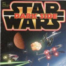 Cine: STAR WARS DARK SIDE Nº 1 OCTUBRE 1997 LA GUERRA DE LAS GALAXIAS. Lote 27075810