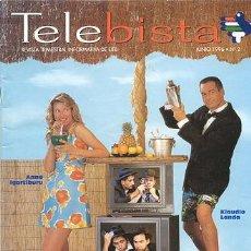 Cine: TELEBISTA Nº 2 //1996 // ANNE IGARTEBURU . Lote 24897769