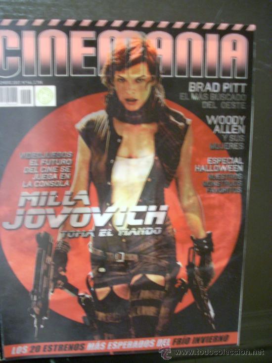 REVISTA 'CINEMANIA', Nº 146. NOVIEMBRE 2007. PORTADA HOLOGRÁFICA DE MILLA JOVOVICH. (Cine - Revistas - Cinemanía)
