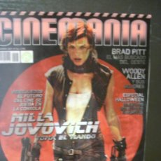 Cine: REVISTA 'CINEMANIA', Nº 146. NOVIEMBRE 2007. PORTADA HOLOGRÁFICA DE MILLA JOVOVICH.. Lote 22374929
