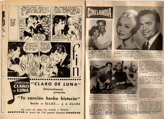 Cine: romantica nº 4 con foto-ficha de john gavin int. natalie wood - Foto 3 - 26935620