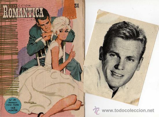 ROMANTICA Nº 29 CON FOTO-FICHA DE TAB HUNTER (Cine - Revistas - Cinelandia)