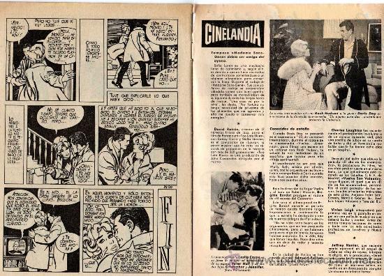 Cine: romantica nº 29 con foto-ficha de tab hunter - Foto 3 - 27266381