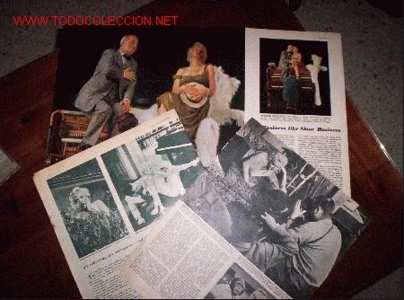 AMPLISIMO REPORTAJE DE MARILYN MONROE DE LOS AÑOS 50 ,ORIGINAL(PRECIO REDUCIDO) (Cine - Revistas - Otros)