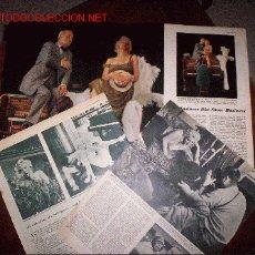 Cine: AMPLISIMO REPORTAJE DE MARILYN MONROE DE LOS AÑOS 50 ,ORIGINAL(PRECIO REDUCIDO). Lote 26801248