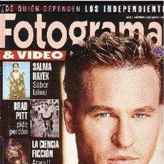 Cine: REVISTA FOTOGRAMAS Y VIDEO. Lote 1113900
