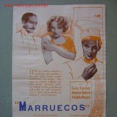 Cine: MARRUECOS - GARY COOPER, MARLENE DIETRICH. Lote 7597722