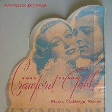 Cine: ENCADENADA - JOAN CRAWFORD, CLARK GABLE. Lote 10998343
