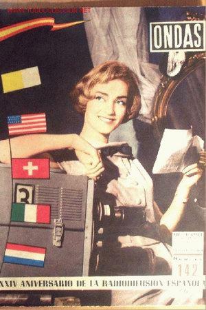 ONDAS Nº 142 - 1 NOVIEMBRE 1958 - 36 PÁGINAS - 24 X 31 CM (Cine - Revistas - Ondas)