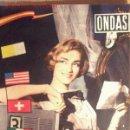 Cine: ONDAS Nº 142 - 1 NOVIEMBRE 1958 - 36 PÁGINAS - 24 X 31 CM. Lote 20313215