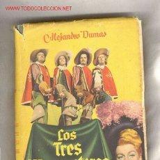 Cine: LOS TRES MOSQUETEROS, EN CINE, AÑO 1949. Lote 26550679