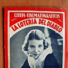Cine: LA LOTERIA DEL DIABLO - EXITOS CINEMATOGRÁFICOS Nº 1 - EDICIONES BISTAGNE . Lote 22816773