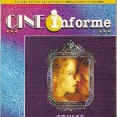 Cine: REVISTA PROFESIONAL 'CINE INFORME', Nº 711. JULIO 1999. 'EYES WIDE SHUT' EN PORTADA.. Lote 5682978