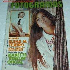 Cine: MARISOL EN FOTOGRAMAS 24 - 3 - 1972- IMPORTANTE LEER. Lote 24317747