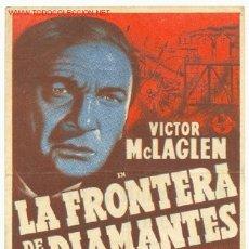 Cine: LA FRONTERA DE LOS DIAMANTES ( 1946 ). Lote 2407684