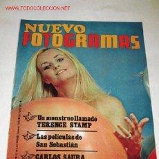 Cine: REVISTA NUEVO FOTOGRAMAS Nº 1030, DE 12/07/68. CARLOS SAURA, EL TRIUNFADOR DE BERLIN.. Lote 26079050