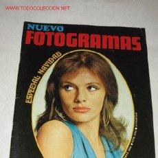 Cine: REVISTA NUEVO FOTOGRAMAS Nº 1053, DE 20/12/68. ESPECIAL NAVIDAD, JACQUELINE BISSET EN PORTADA. Lote 26079051