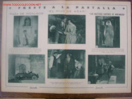 Cine: Revista Popular Film 1927 nº 67. Portada Lily Damita - Foto 2 - 5254612