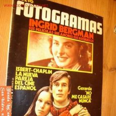 Cine: REVISTA - NUEVO FOTOGRAMAS - 25 FEBRERO AÑO 1972 Nº 1219. Lote 2368623