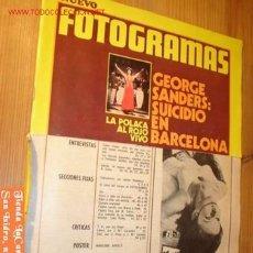 Cine: REVISTA - NUEVO FOTOGRAMAS - Nº 1229 MAYO AÑO 1972.. Lote 2368986