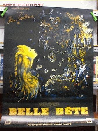 LA BELLA Y LA BESTIA (Cine - Reproducciones de carteles, folletos...)