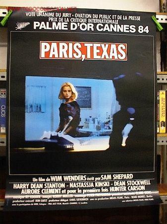 PARIS TEXAS (Cine - Reproducciones de carteles, folletos...)