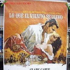 Cine: LO QUE EL VIENTO SE LLEVO. Lote 210184126