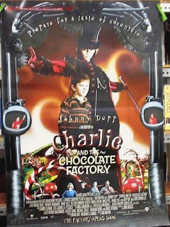 CHARLIE Y LA FABRICA DE CHOCOLATE (Cine - Reproducciones de carteles, folletos...)