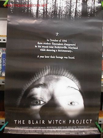 EL PROYESTO DE LA BRUJA DE BLAIR (Cine - Reproducciones de carteles, folletos...)
