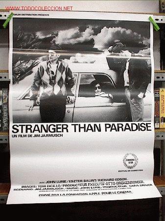 ESTRAÑOS EN EL PARAISO (Cine - Reproducciones de carteles, folletos...)