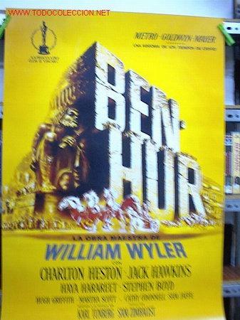 BEN HUR (Cine - Reproducciones de carteles, folletos...)