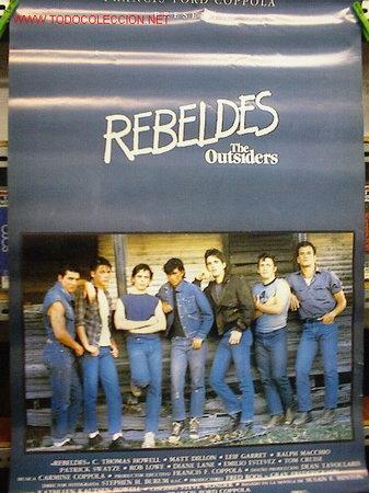 REBELDES (Cine - Reproducciones de carteles, folletos...)