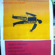 Cinema: ANATOMIA DE UN ASESINATO. Lote 3048481