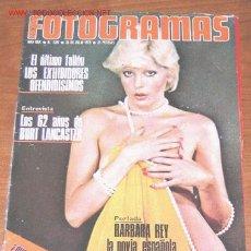 Cine: FOTOGRAMAS Nº 1397 - JULIO 1975 - BARBARA REY - NATHALIE DELON - BURT LANCASTER. Lote 21505233