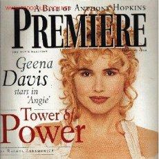 Cine: PREMIERE . FEBRUARY 1994. Lote 2733612