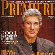 Cine: PREMIERE. JANEIRO 2001 (EN PORTUGUÉS). Lote 2734793