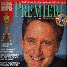Cine: PREMIERE. APRIL 1992. Lote 2734822