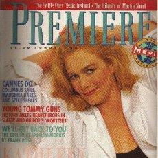 Cine: PREMIERE. AUGUST 1991. Lote 2734949