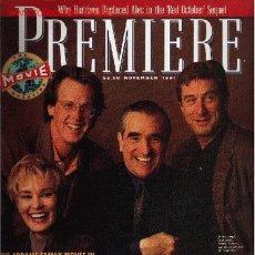 Cine: PREMIERE. NOVEMBER 1991. Lote 2734956