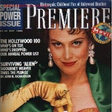 Cine: PREMIERE. MAY 1992. Lote 2734980
