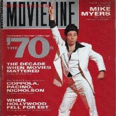 Cine: MOVIELINE. AUGUST 1993. Lote 2735044