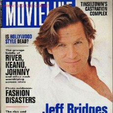 Cine: MOVIELINE. SEPTEMBER 1993. Lote 2735048