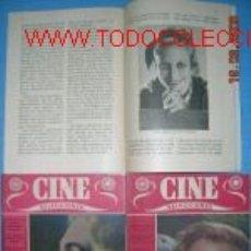 Cine: CINE. SELECCIONES, 3 REVISTAS AÑOS 1951.....BIOGRAFIAS.. Lote 2790705