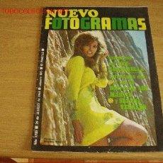 Cine: RAQUEL WELCH. LEE MARVIN. ADOLFO MARSILLACH. SERENA VERGANO. POP TOPS. REVISTA NUEVO FOTOGRAMAS 1968. Lote 26271053