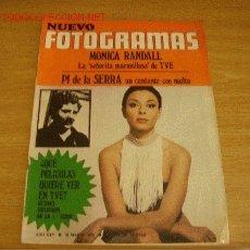 Cine: MÓNICA RANDALL. ROSELLINI. ADOLFO MARSILLACH. KIM NOVAK. PÍ DE LA SERRA. REVISTA NUEVO FOTOGRAMAS. Lote 18635241
