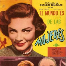 Cine: COLECCIÓN GRANDES PELÍCULAS EL MUNDO DE LAS MUJERES. Lote 15074963