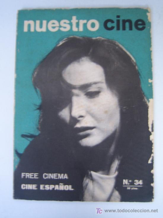 REVISTA NUESTRO CINE Nº 34 - NURIA ESPERT - FREE CINEMA (Cine - Revistas - Otros)